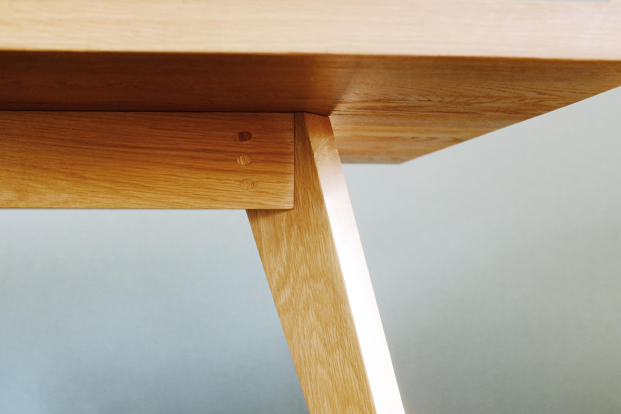 Oak Table for Duncan Sargent