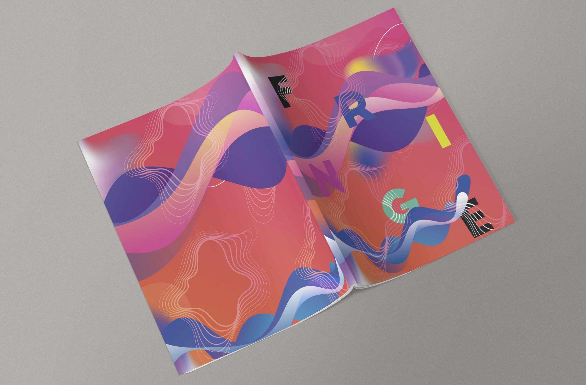 Fringe Festival. Creative Direction. Festival booklet layout design.