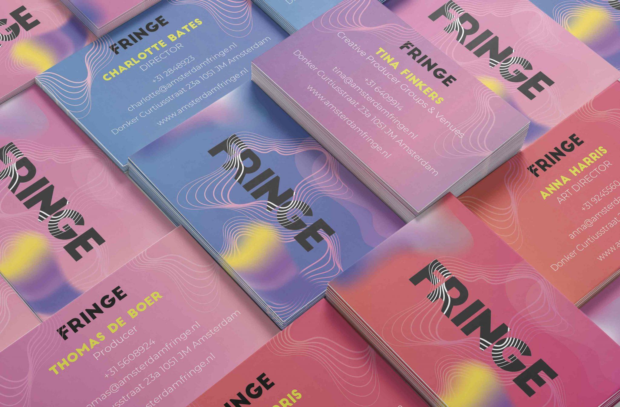 Fringe Festival. Creative Direction. Festival artwork & logo and booklet layout design.