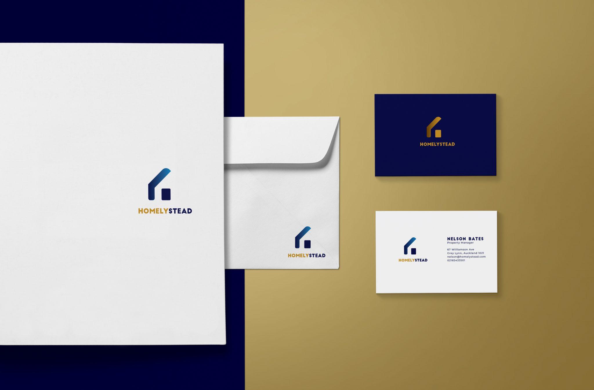 Brand identity brand identity for a property development company.