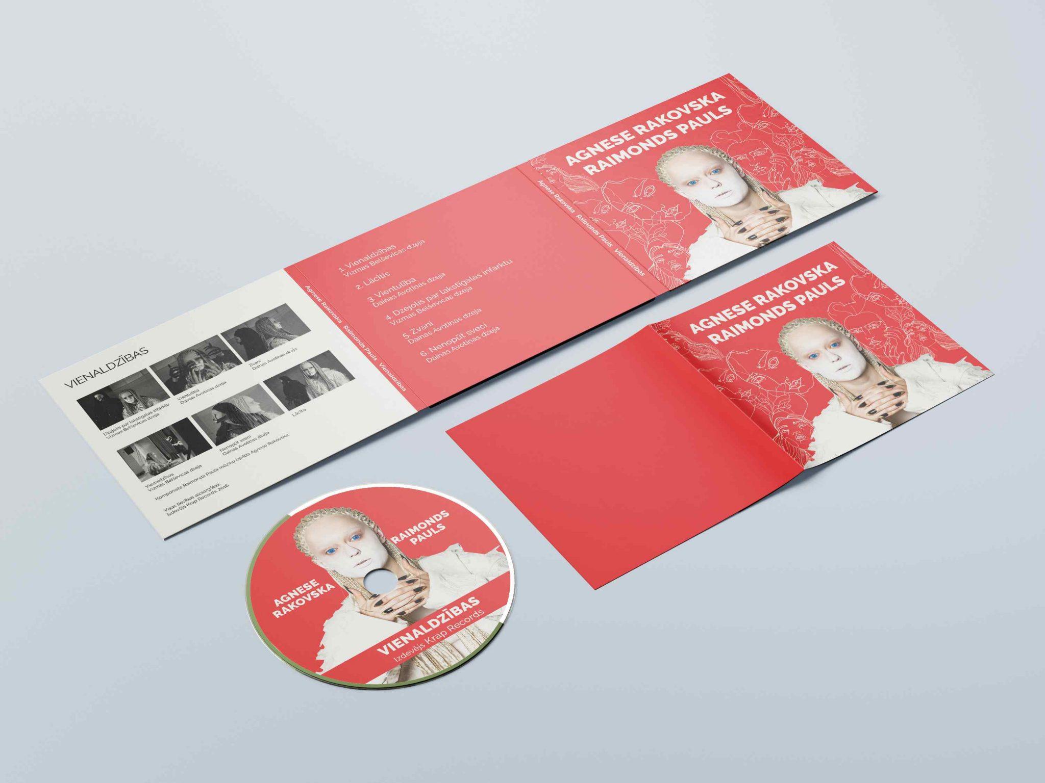 CD Cover & Disc Design