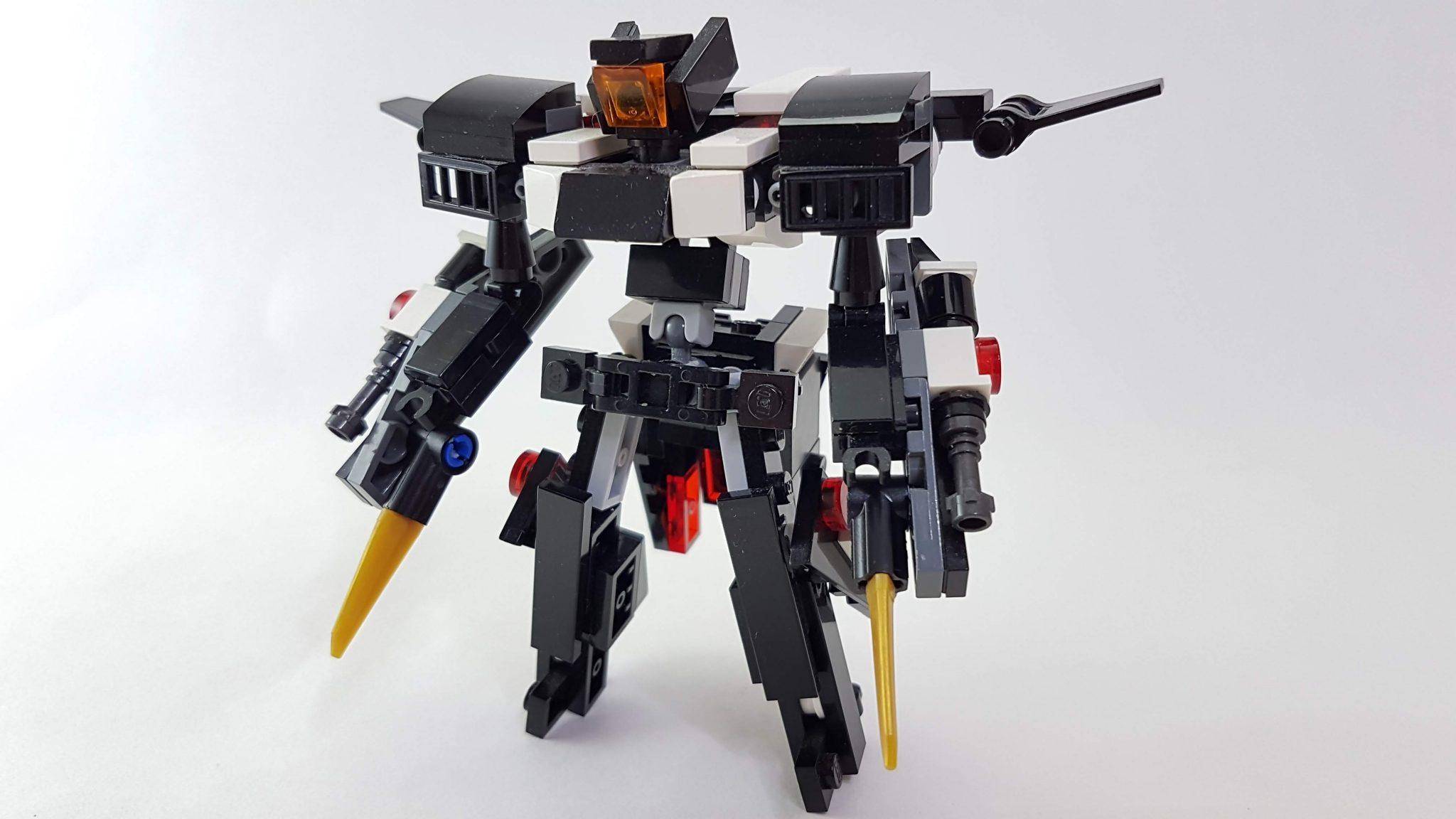 Lego Custom Based of the Overflag and 00 Gundam