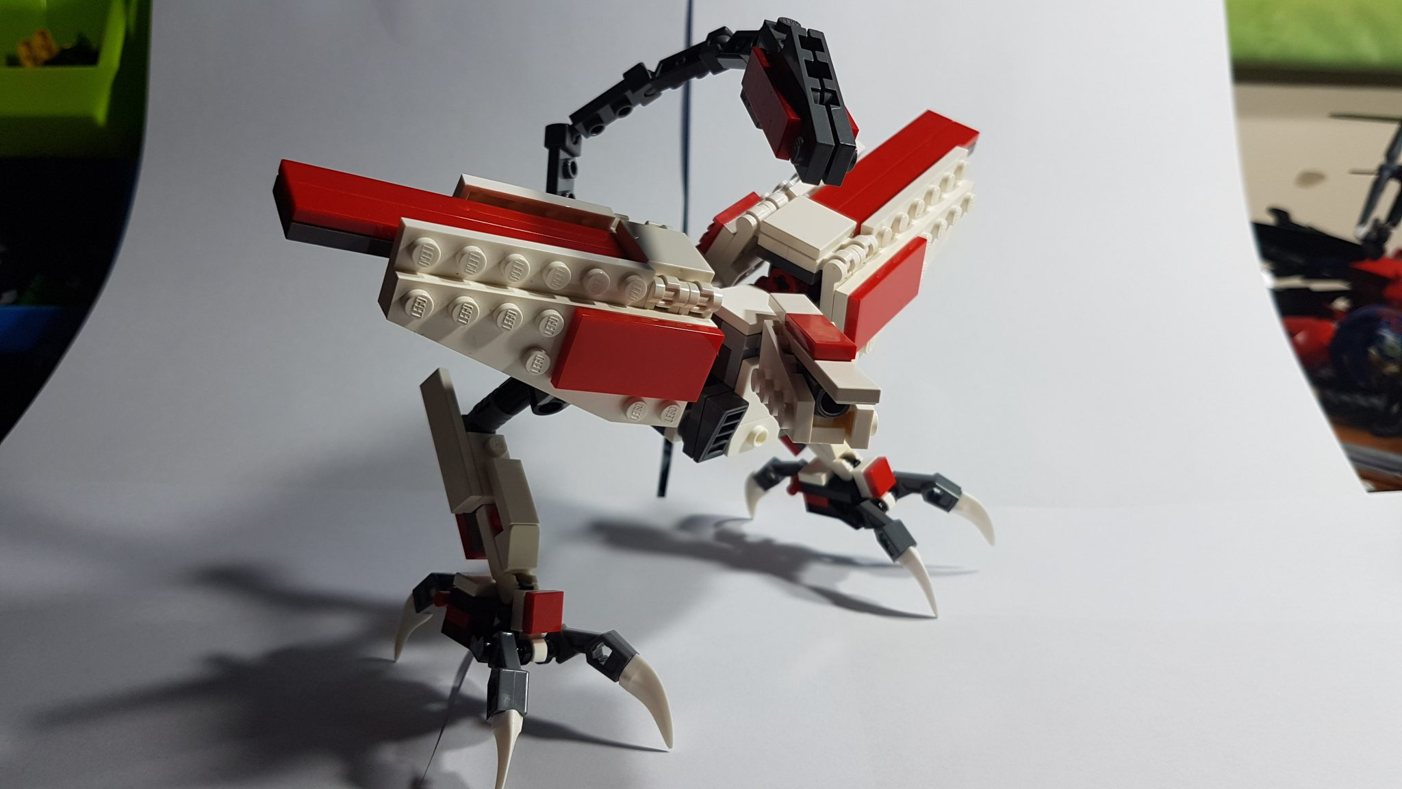 Lego Moc of the Mobile Armor Hashmal from Mobile Suit Gundam Iron Blooded Orphans