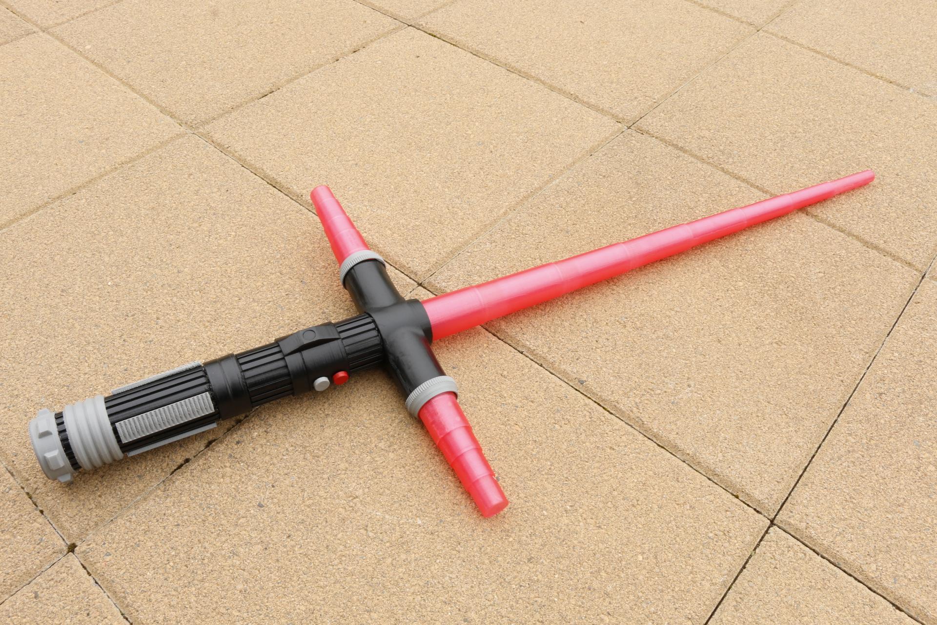 3D printed cross guard Light saber