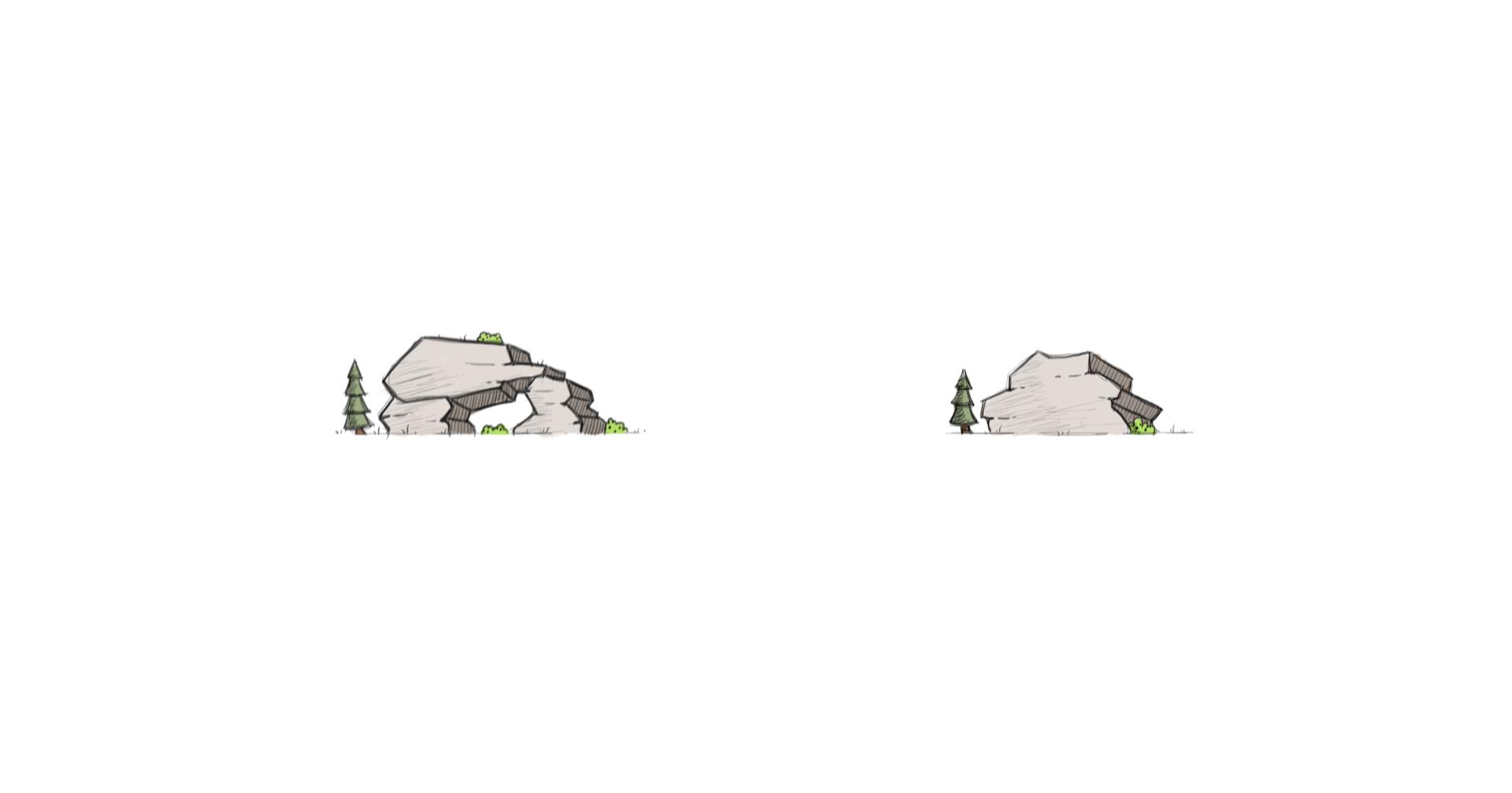 Illustration - Rocks