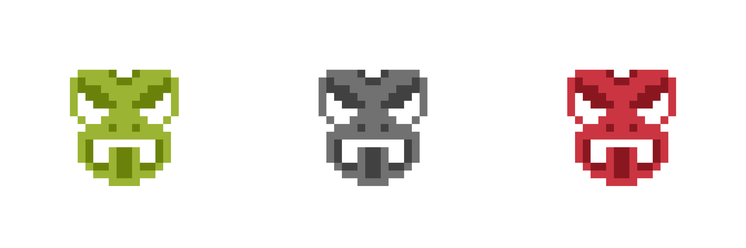 Pixel Art - 8Bit Taniwha