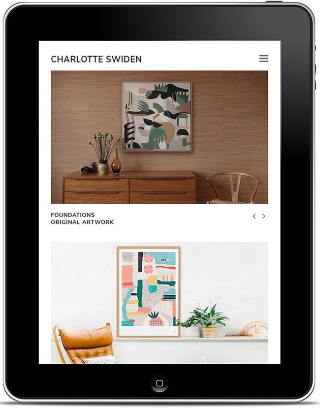 Website Design and Development: Charlotte Swiden