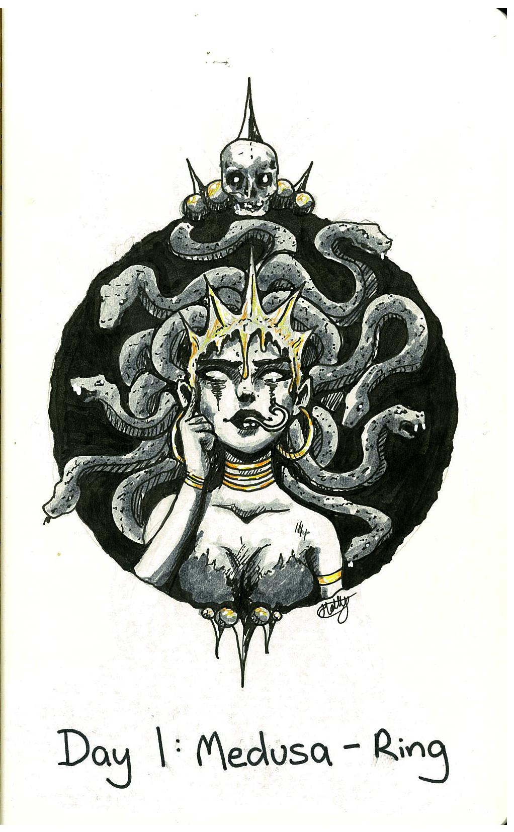 Medusa - Ink